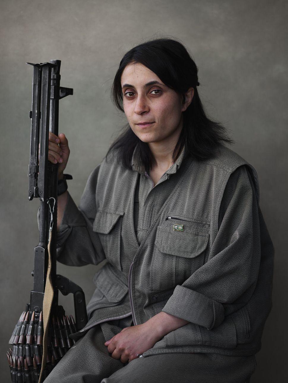 PKK member Ruken.
