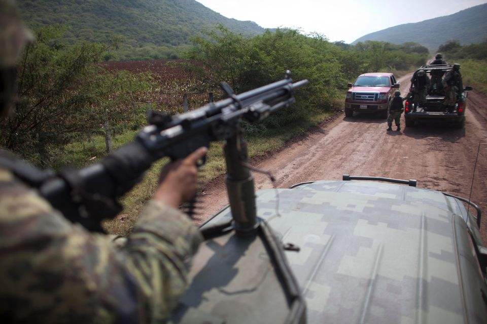 For the first year and a half of his term, Peña Nieto avoided or played down the subject of public security in a country that
