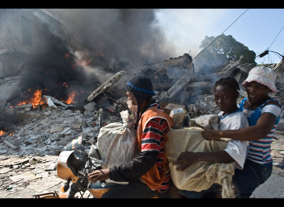 The Haitian Government reports that between 217,000 and 230,000 people had been identified as dead, an estimated 300,000 inju