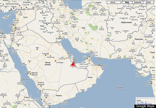 Qatar On World Map Qatar MAP: World Cup Host Location, Pronunciation | HuffPost