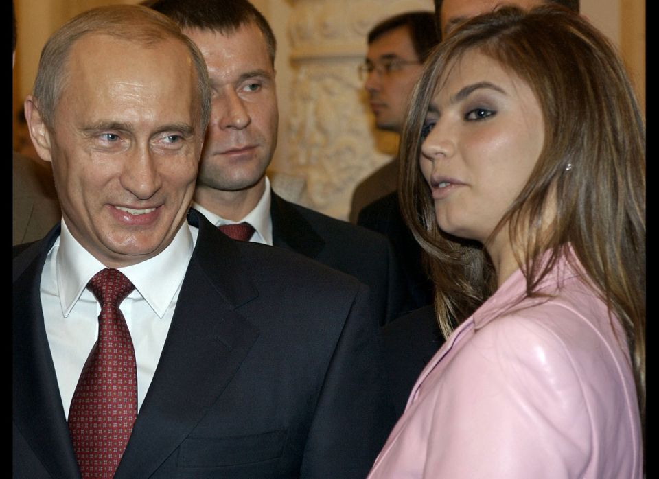 In 2004, Vladimir Putin -- then Russia's president -- was photographed alongside gymnast Alina Kabayeva at a Kremlin banquet