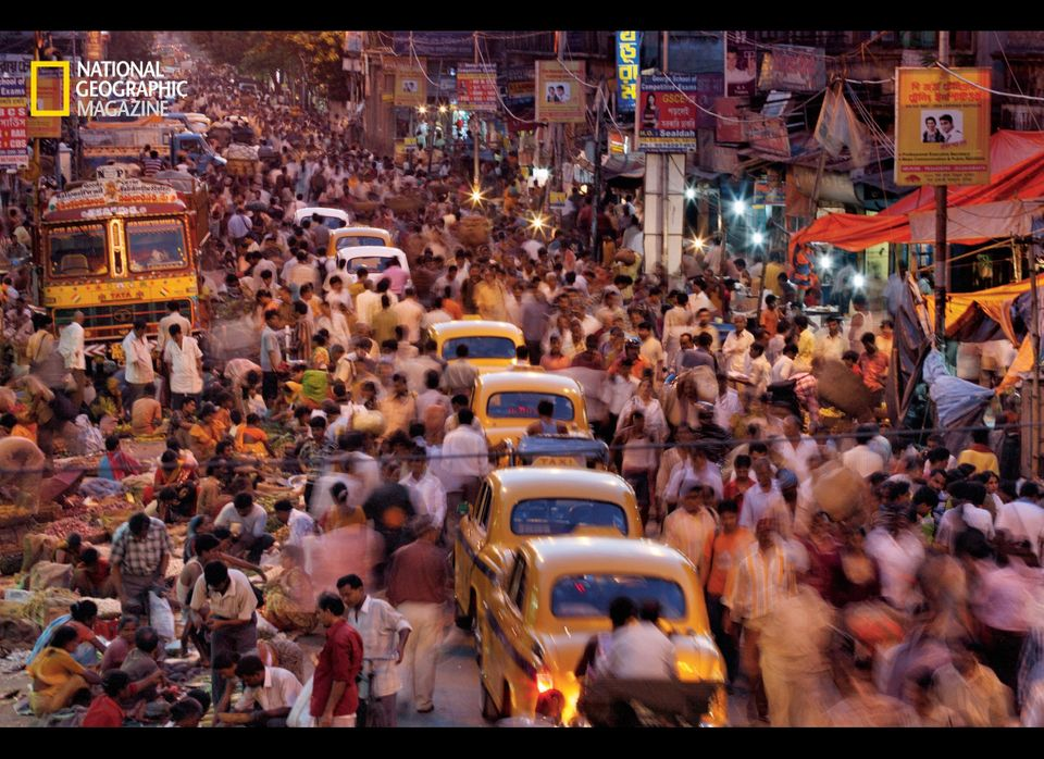 Its steaming streets crammed with vendors, pedestrians, and iconic Ambassador taxis, Kolkata throbs with some 16 million peop