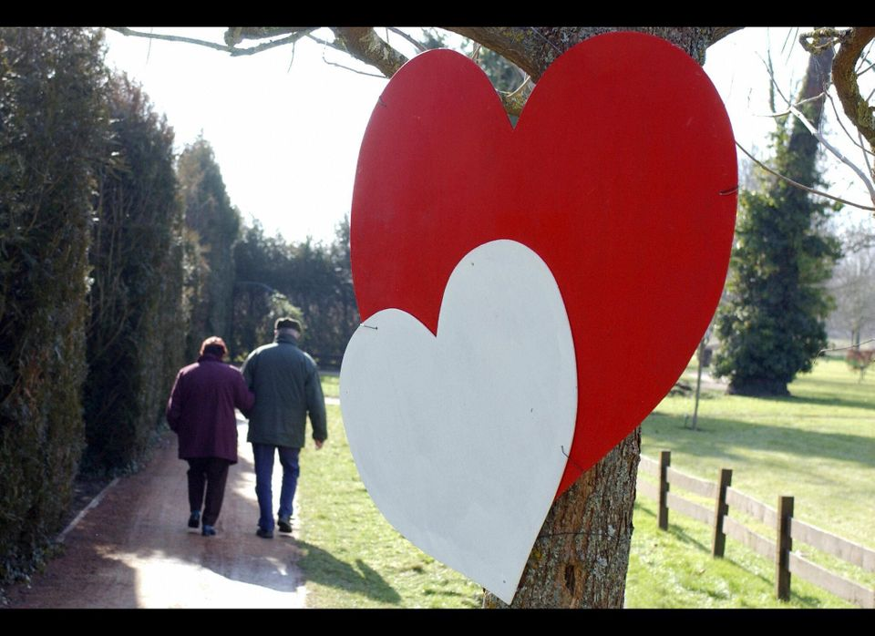 """In France -- a traditionally Catholic country -- Valentine's Day is known simply as """"Saint Valentin,"""" and is celebrated in mu"""