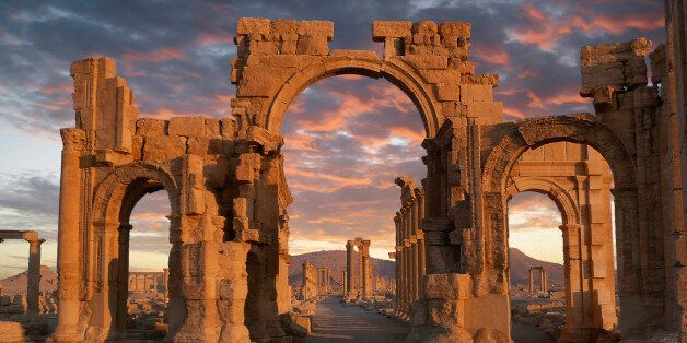Sunset at the Unesco World heritage Site.