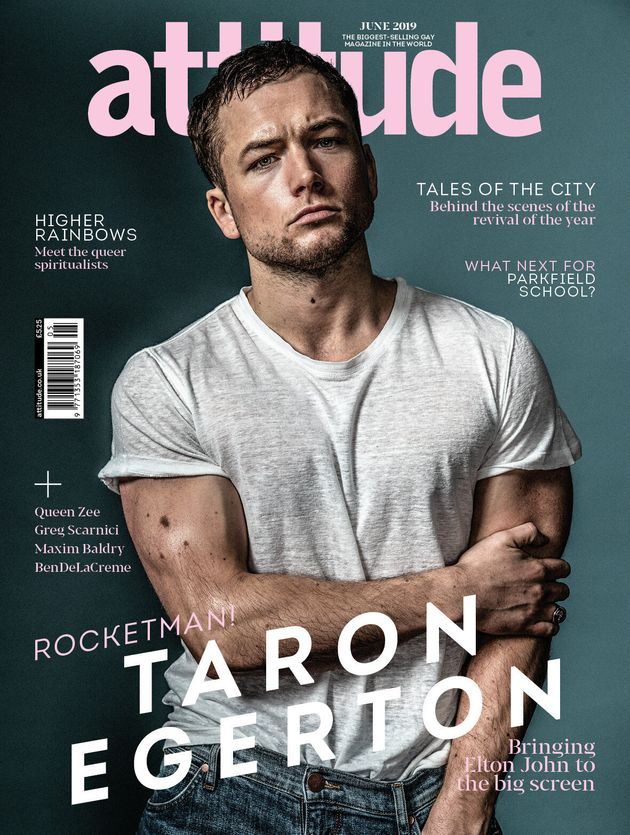 Rocketman's Taron Egerton Addresses Critics Who Don't Think A Straight Actor Should Play Elton