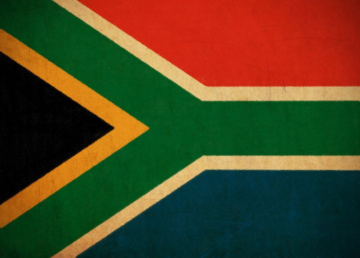 south africa flag drawing ...