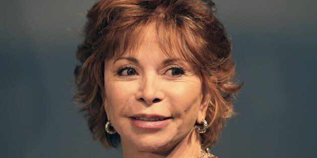 Chilean-American writer Isabel Allende is pictured at the Book Fair in Frankfurt am Main, western Germany, October 15, 2015.