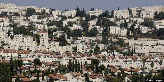 This picture shows a general view of the Israeli settlement of Ramot, on November 10, 2010. Israel ruled out a freeze on the