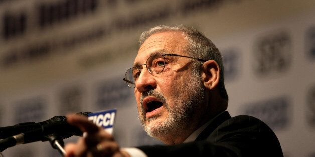 **FILE** Nobel Laureate Joseph Stiglitz, delivers keynote address at the national seminar on 'Making Globalization Work: An I