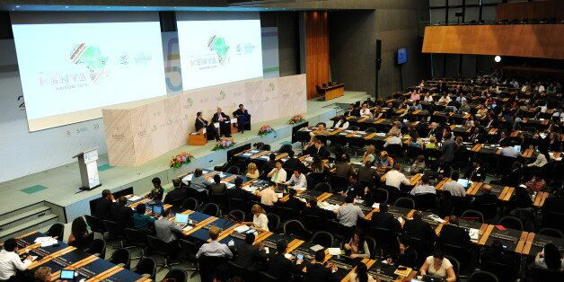 Photos from Day 2 of the Fifth Global Review of Aid for Trade, 30 June - 2 July 2015. These photos may be reproduced provided