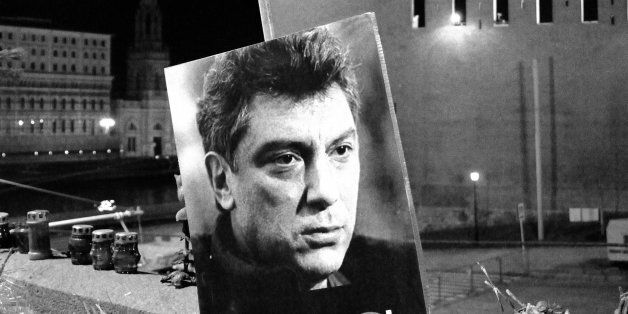Tribute to Boris Nemtsov. Murdered on Bolshoi Moskovoretsky Bridge, near the Kremlin on 27 February 2015