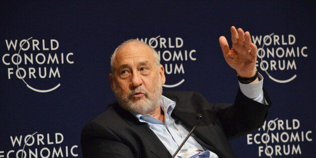 US economist and professor Joseph E. Stiglitz, speaks during a meeting in the framework of the World Economic Forum on Latin