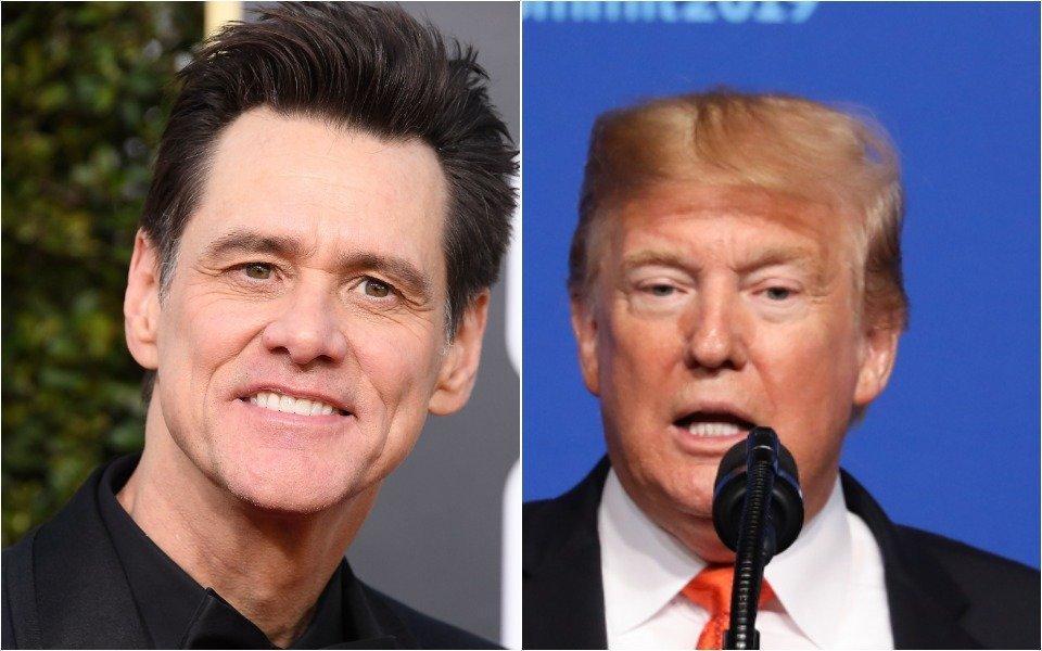 Jim Carrey and Donald Trump