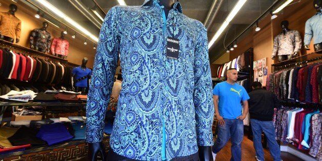 A shirt known as 'Crazy Paisley,' a replica of the shirt worn by Mexican drug-lord Joaquin 'El Chapo' Guzman during his inter