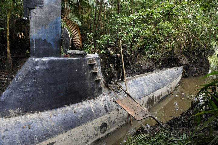 Colombia Drug Submarines Becoming Vehicle Of Choice For