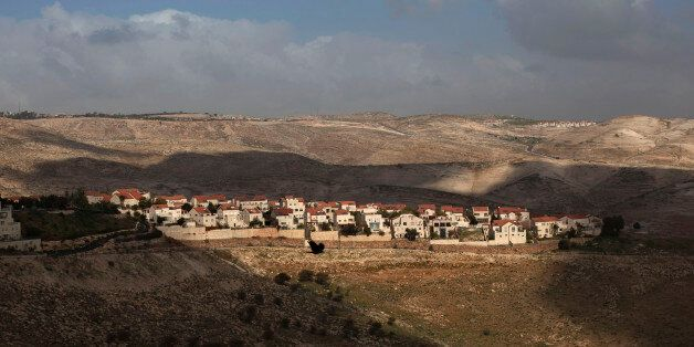 FILE -- This Feb. 24, 2013 file photo shows a general view of the Jewish settlement of Maaleh Adumim, on the outskirts of Jer
