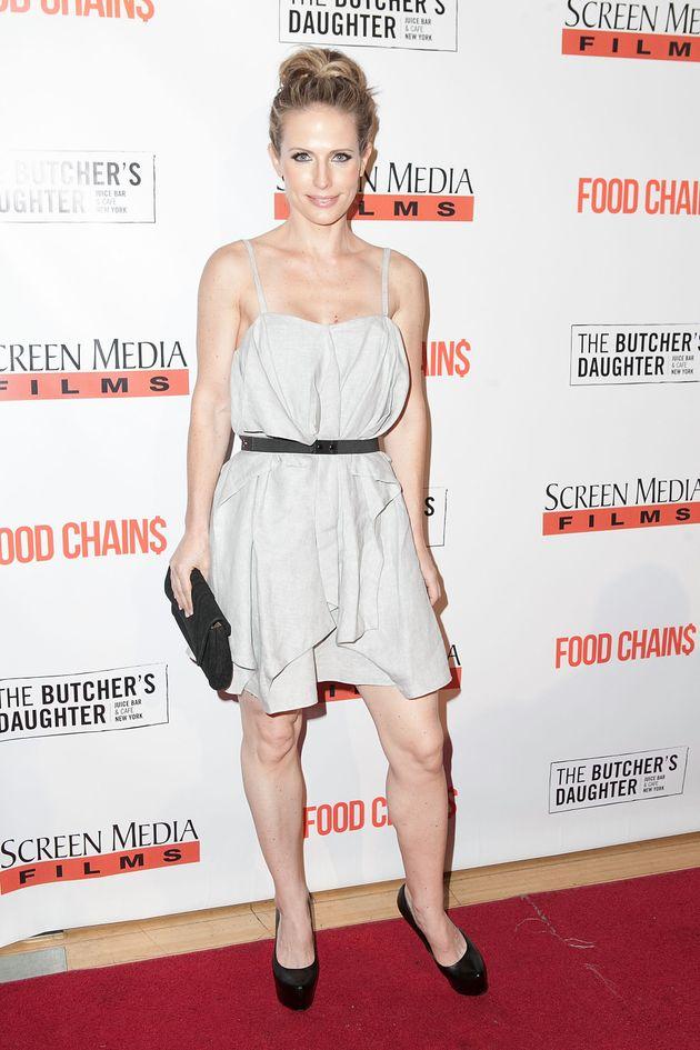 Stefanie Sherk, pictured here in