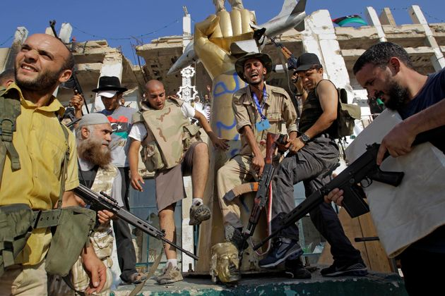 Gaddafi Compound Attack Photos: A Look Inside Libyan Leader's Bab-al