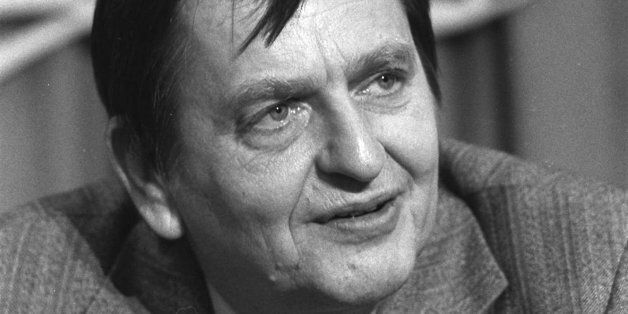 FILE--Olaf Palme, seen in this November 1980 file picture, the Swedish prime minister shot down in 1986, is stirring debate a