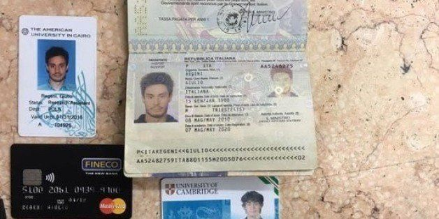 FILE -- In this  file photo released by the Egyptian Ministry of Interior on Thursday, Mar. 24, 2016, personal belongings of