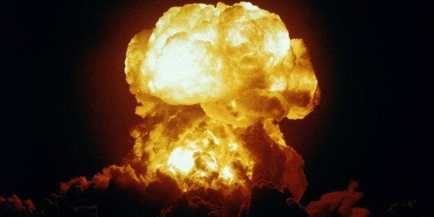 U.S. Navy nuclear test, Bikini Atoll, Marshall Islands
