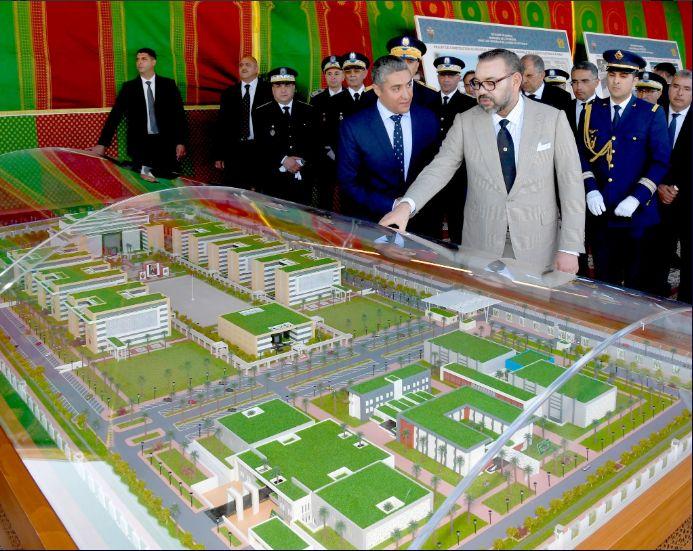 Le roi Mohammed VI lance les travaux du nouveau siège de la DGSN à