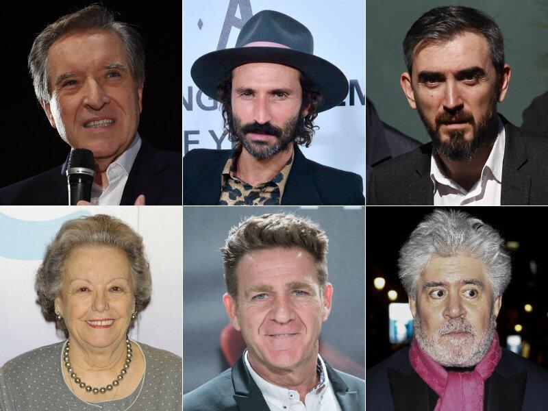 Leiva, Gabilondo, Escolar, Almodóvar.... La lista completa de famosos que piden el voto a la