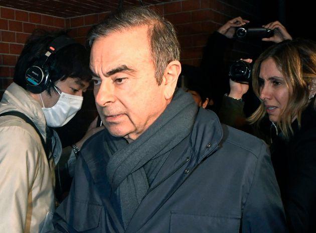 Carlos Ghosn, ici le 3 avril à Tokyo, pourra être libéré sous caution, selon...