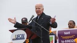 L'ancien vice-président démocrate Joe Biden candidat à la Maison