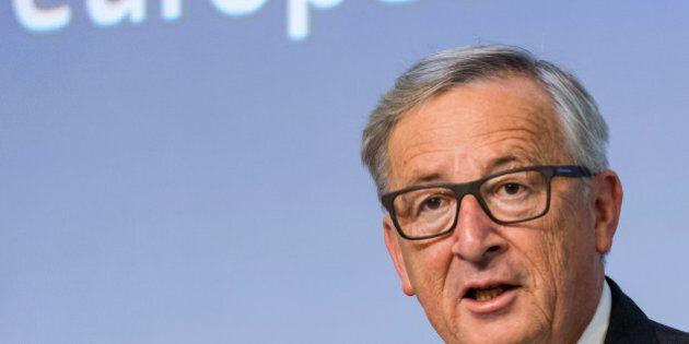 European Commission President Jean-Claude Juncker speaks during a plenary session of European Economic...