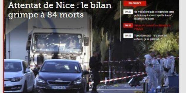 La strage di Nizza sui giornali di tutto il mondo: