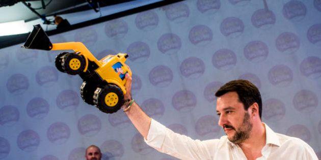 Matteo Salvini dopo l'attentato di Nizza: