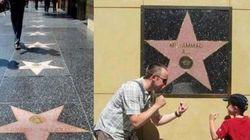 Perché la stella di Ali è l'unica sul muro e non sta sul pavimento della Walk of