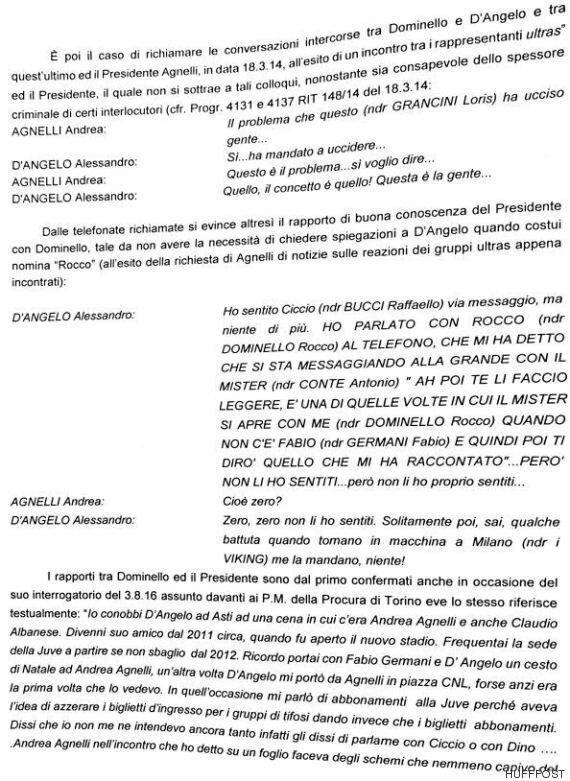 L'intercettazione che inguaia Andrea Agnelli, presidente della Juventus: