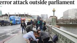 Le prime pagine della stampa di tutto il mondo mostrano l'orrore di