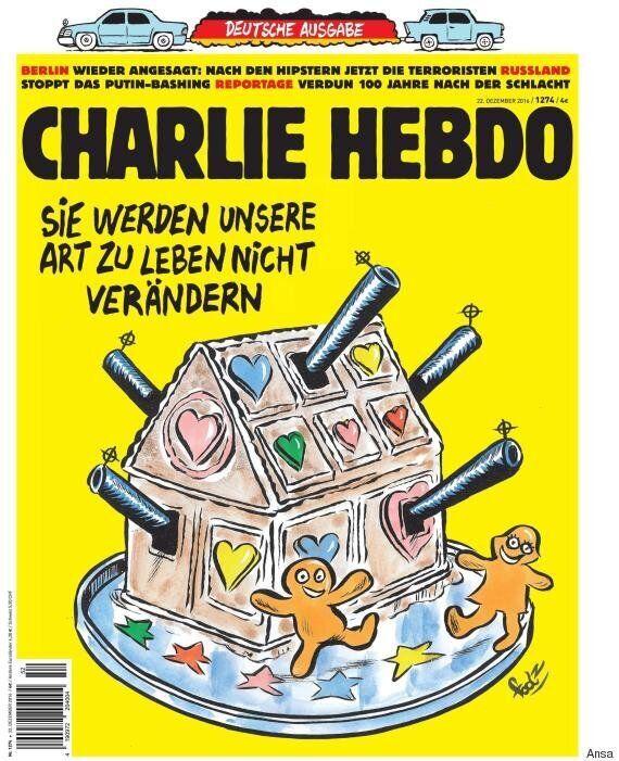 Charlie Hebdo dedica la sua copertina alla strage di Berlino: