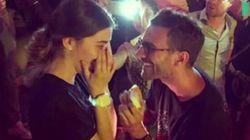 La proposta di matrimonio sulle note di Fix You dei Coldplay è più romantica di quella di Fedez alla