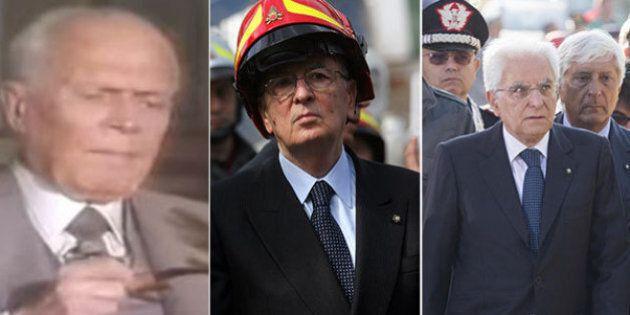 Discorsi e silenzi dei presidenti della Repubblica davanti alle macerie. Specchio dei tempi e della temperatura...