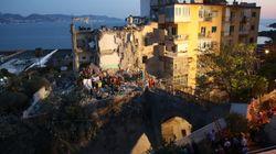 Crollo palazzina a Torre Annunziata: 8 vittime. Morti due bambini di 8 e 11