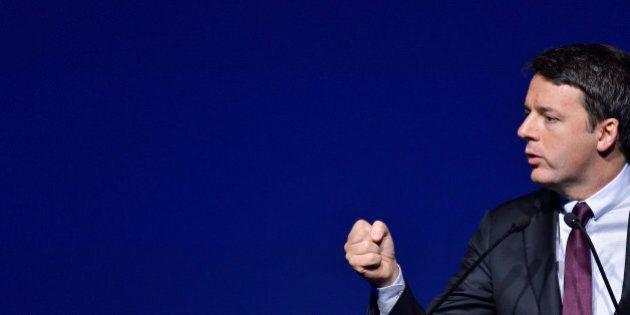 Matteo Renzi all'assemblea di Assolombarda, nuovo