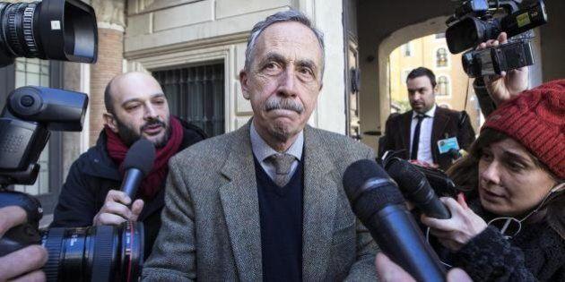 Sit-in in Campidoglio a sostegno dell'assessore Paolo Berdini: