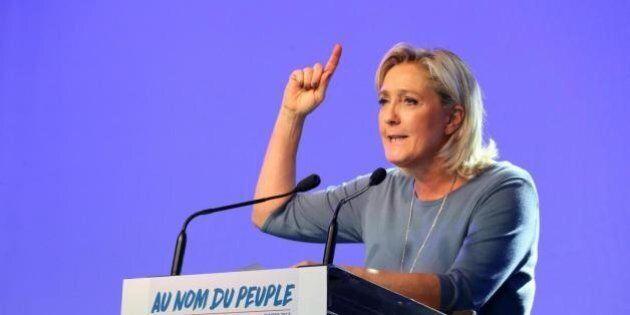 Silenzio sulle parole antisemite della Le Pen. Tutti