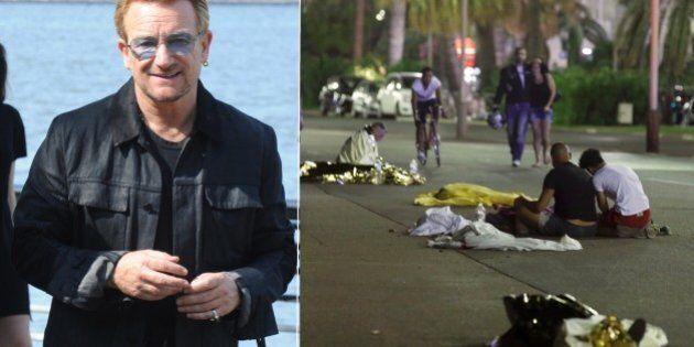 Attentato Nizza, Bono degli U2 nel ristorante di Alain Ducasse dove hanno trovato rifugio le persone...