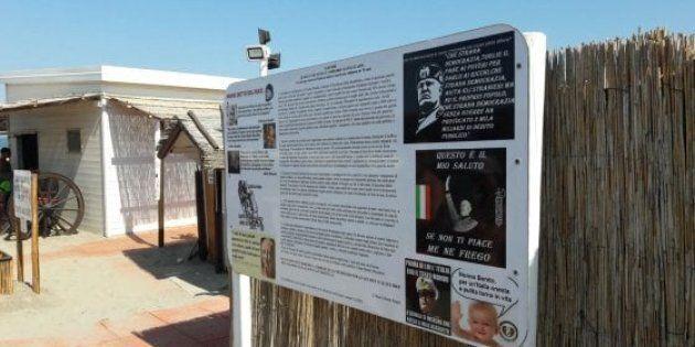 A Chioggia la spiaggia fascista: