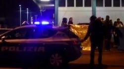 Le prime immagini dopo la sparatoria a Milano in cui è stato ucciso l'attentatore di