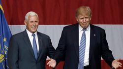 Trump ufficializza la candidatura di Mike Pence a