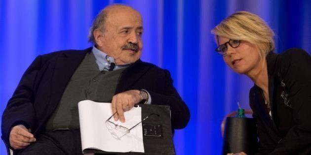 Maurizio Costanzo nostalgico di Maria De Filippi: