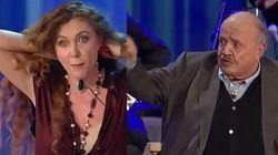 Lite in tv Costanzo - Brigliadori: