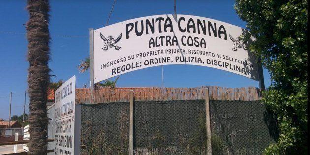 Ordinanza contro il lido fascista di Punta Canna.