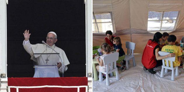 Papa Francesco ai terremotati: